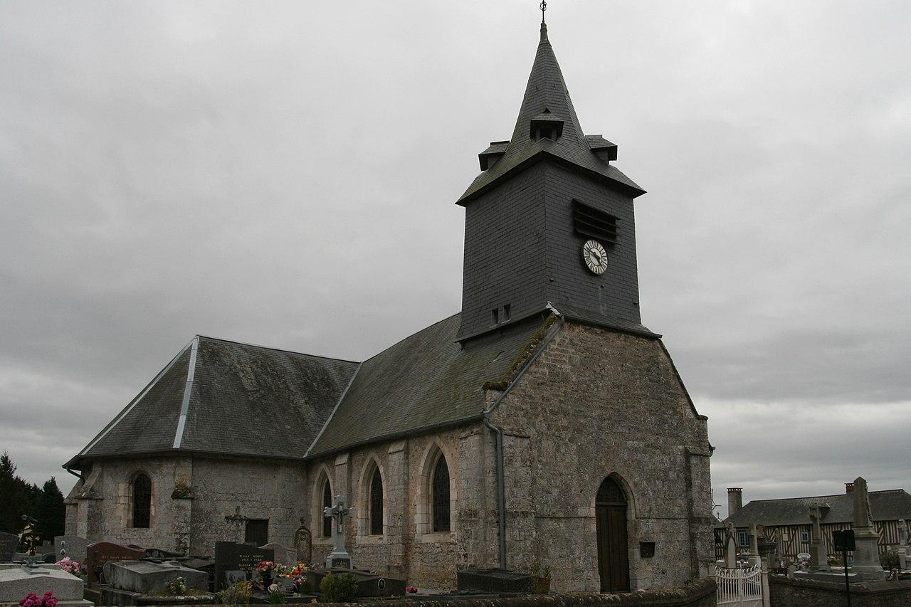 Genneville - Église Saint-Ouen 03.JPG