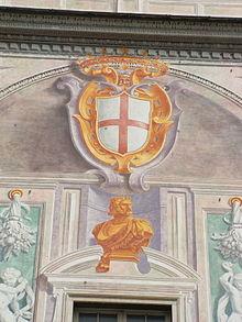 La Croce di San Giorgio e Giano bifronte, simboli di Genova