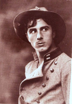 George Beranger - 1915 studio portrait of Beranger as Wade Cameron in the D. W. Griffith film The Birth of a Nation