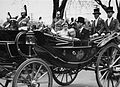 George VI, visit to Toronto, 22 May 1939, at the King's Plate, Woodbine (now Greenwood) Race Track, Queen St. E. (16771128373).jpg