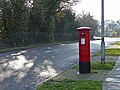George V Pillar Box, Old Park Avenue, Enfield - geograph.org.uk - 1074875.jpg