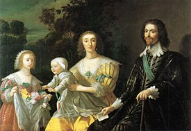 George Villiers Duke of Buckingham and Family 1628