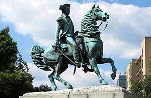 Lieutenant General George Washington (statue) - Image: George Washington statue