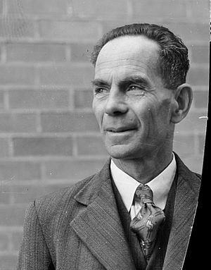 Mayor of Upper Hutt - Mayor George Williams in 1950