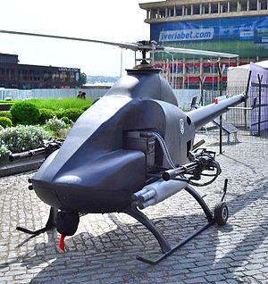 Multi-function Unmanned Helicopter (Georgia) - Multi-functional Unmanned Helicopter on the Independence Day