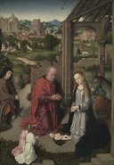Gerard David - The Nativity - 1958.320 - Cleveland Museum of Art.tiff