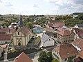 Gerichtstetten, Ortsteil von 74736 Hardheim, Ansicht Kirche und Rathaus.jpg