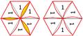 Gesicht eines Flexagons im Hauptzirkel und Gesicht eines Flexagons im Nebenzirkel.png