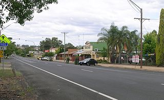 Geurie, New South Wales Town in New South Wales, Australia