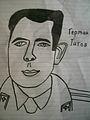 Gherman Titov marker drawing.JPG