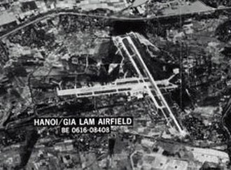 Gia Lam Airport - Gia Lam Airfield in 1967.