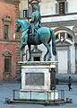Giambologna e Pietro Tacca, Statua equestre di Ferdinando I de' Medici, 1602-07, 01.JPG