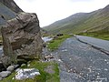 Giant boulders litter the landscape of the Honister Pass. - panoramio.jpg