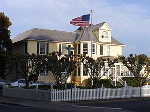 Seaside, Oregon - The Gilbert House in Seaside