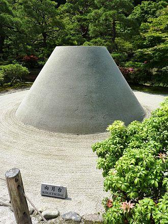 Japanese Zen - Kogetsudai, Ginkaku-ji temple, Kyoto