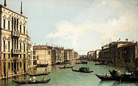 Giovanni Antonio Canal, il Canaletto - Venice - The Grand Canal, Looking North-East from Palazzo Balbi to the Rialto Bridge - WGA03851.jpg