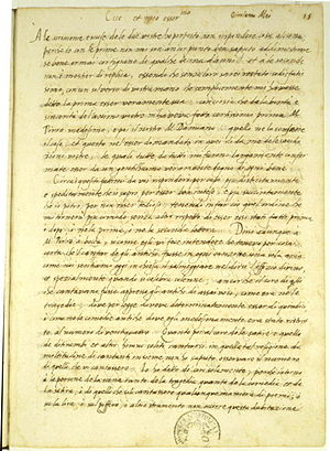 Girolamo Mei - Letter of Girolamo Mei to Vincenzo Galilei, describing the effect of ancient Greek music on human emotions