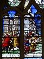 Gisors (27), collégiale St-Gervais-et-St-Protais, collatéral nord, verrière n° 23 - vie des saints Crépin et Crépinien 4.jpg