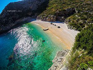 Karaburun Peninsula, Albania - Image: Gjiri Grames. Karaburun
