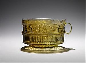 Ennion - Image: Glass cup MET DP329556