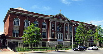 Gonzaga College High School - Image: Gonzaga College High School Washington, D.C