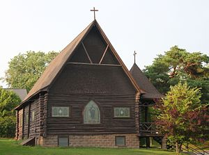 National Register of Historic Places listings in Itasca County, Minnesota - Image: Good Shep Church