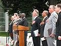 Gov. Deval Patrick, Congressman Richard Neal, US DOT Secretary Ray LaHood, Springfield, June 3, 2010 (4666325595).jpg