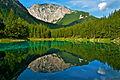 Grüner See, spiegelt seine Umgebung.jpg