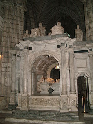 Claude of France - Tomb of Francis I and Claude of France at St. Denis Basilica.