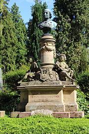 Grabmal von Franz Abt (1889) auf dem Nordfriedhof Wiesbaden (Quelle: Wikimedia)