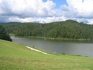 Lake Gradišče - Image: Gradisko Jezero