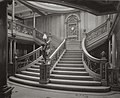 Grand Staircase aboard the RMS Olympic (William H. Rau 1911).jpg