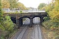 Grand Union Canal aqueduct over railway near Warwick - geograph.org.uk - 1586262.jpg