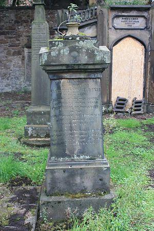 James Pillans - Grave of James Pillans, St Cuthberts Churchyard, Edinburgh