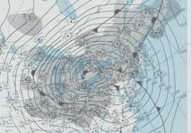 Great Blizzard 1978-01-26 weather map.png
