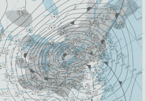 Great Blizzard of 1978 - Image: Great Blizzard 1978 01 26 weather map