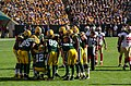 Green Bay Packers huddle - San Francisco vs Green Bay 2012 (2).jpg