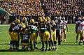 Green Bay Packers huddle - San Francisco vs Green Bay 2012 (2).jpg