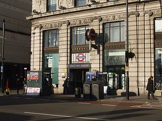 Green Park tube station London Underground station