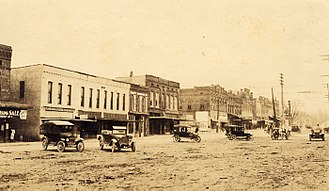 Greenville, South Carolina - Main Street around 1910