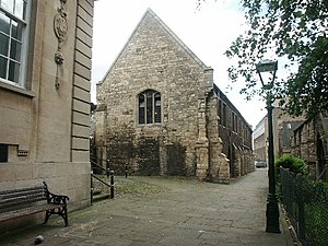 George Boole - Greyfriars, Lincoln, which housed the Mechanic's Institute