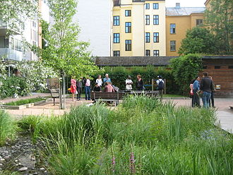 Greywater - Urban decentralized greywater treatment with constructed wetland in Oslo