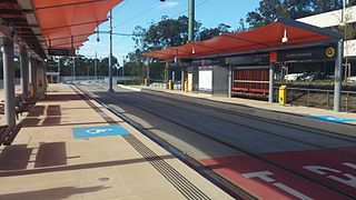 Griffith University light rail station