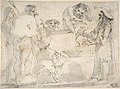 Group of Caricatured Figures with an Artist Drawing MET DP808263.jpg