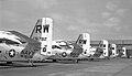 Grumman C-1As of VR-30 COD 1974 (5087877697).jpg