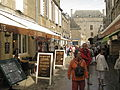 Guérande Rue Saint-Michel - view towards town gate.JPG