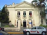 Antigo Teatro Municipal, hoje sede da Prefeitura.
