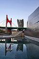 Guggenheim museum Bilbao pond2.jpg