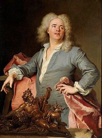 Guillaume Coustou the Elder - 'Guillaume Coustou the Elder by Jacques-François Delyen, in the Palace of Versailles, Salle Louis XIV