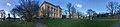 Gunnarsbø (villa 1878) Gunnarsbøparken Svend Foyns arbeiderboliger in Storgaten, Svømmehall in Stoltenbergs gate, Tønsberg Norway 2018-11-12 Distorted panorama B.jpg